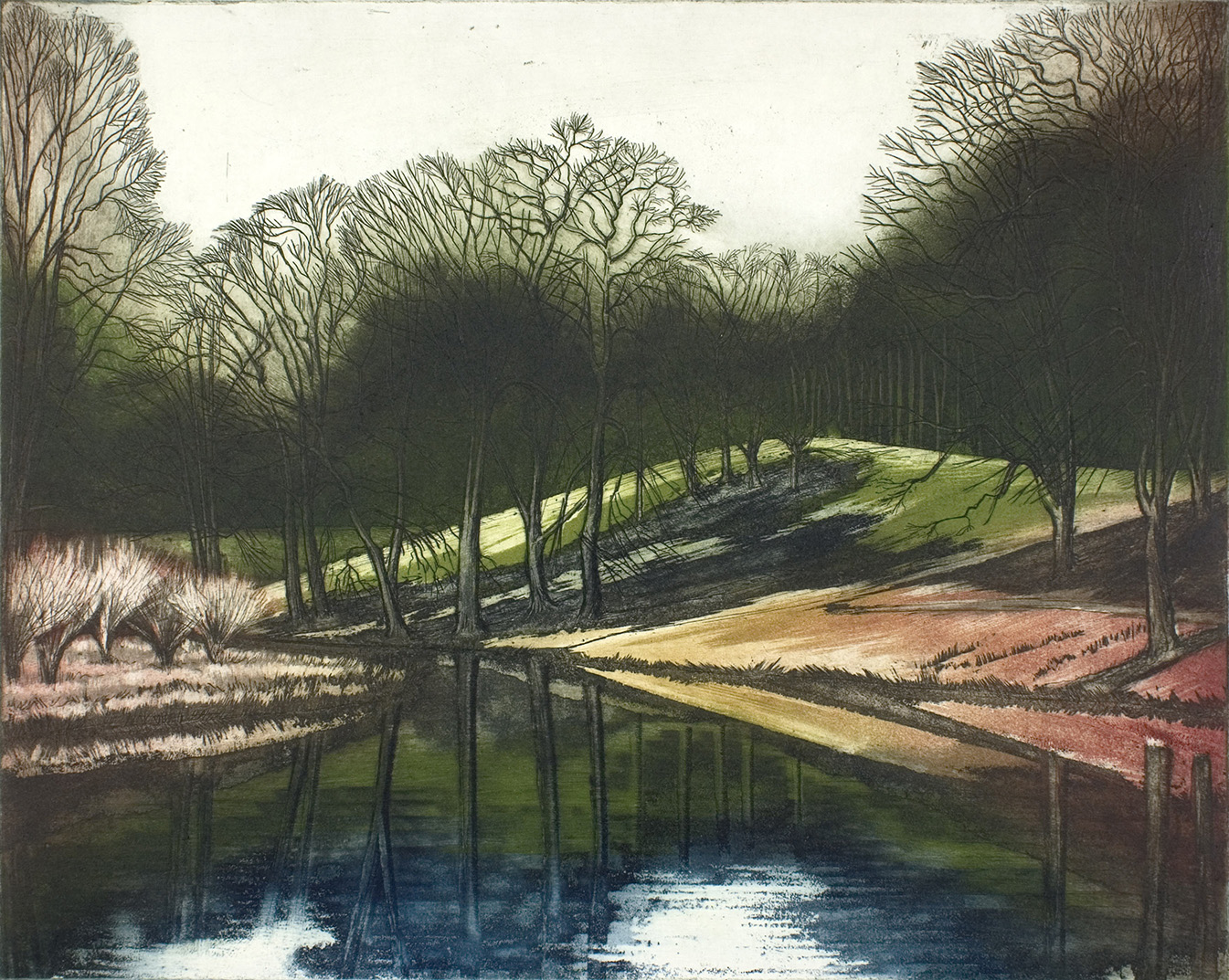 'By the Lake, Blenheim' by Morna Rhys