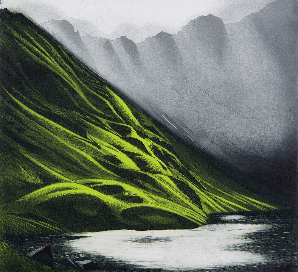 'Cader Idris Cirque' by Morna Rhys