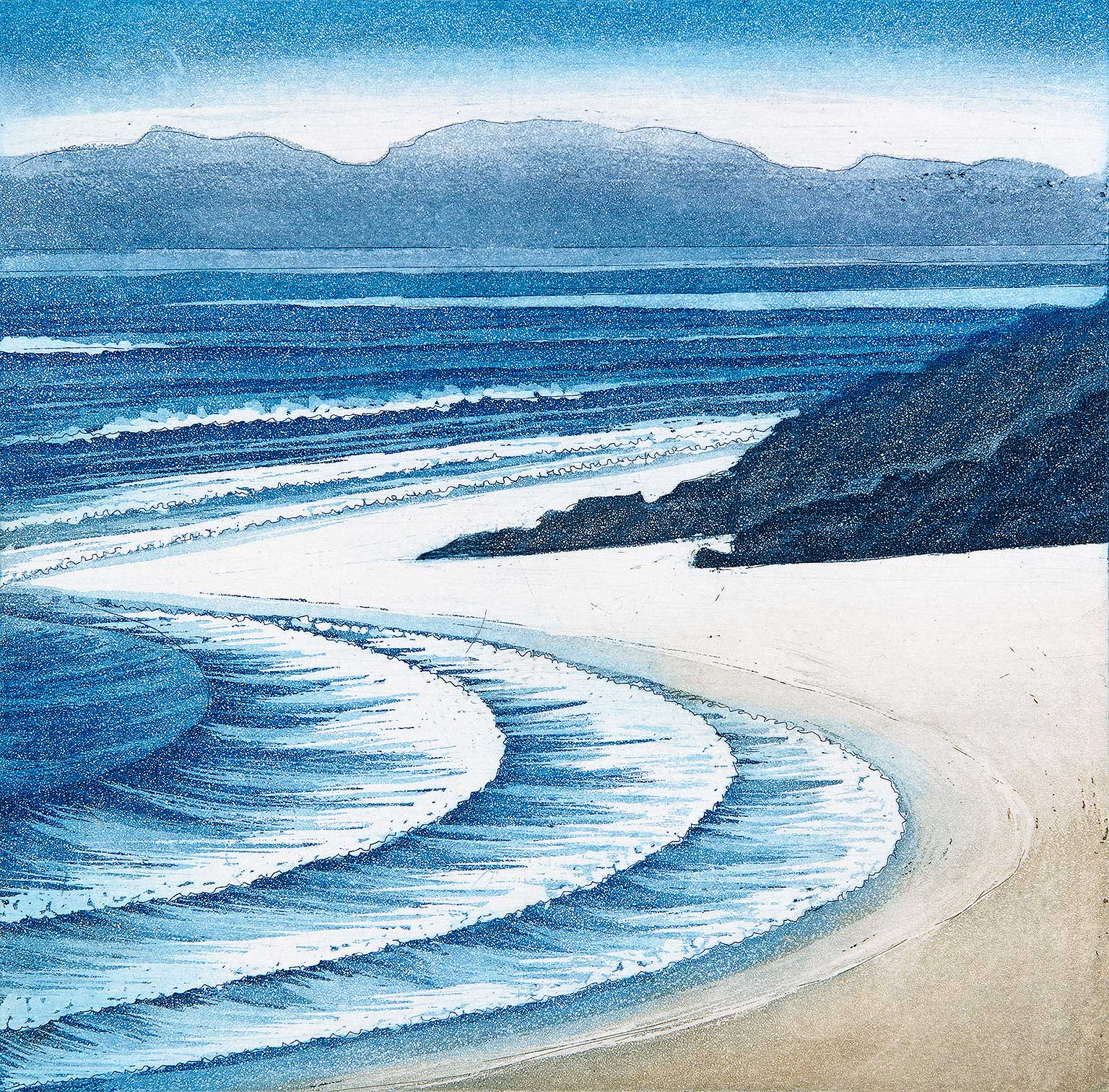 'Low Tide, Gower' by Morna Rhys