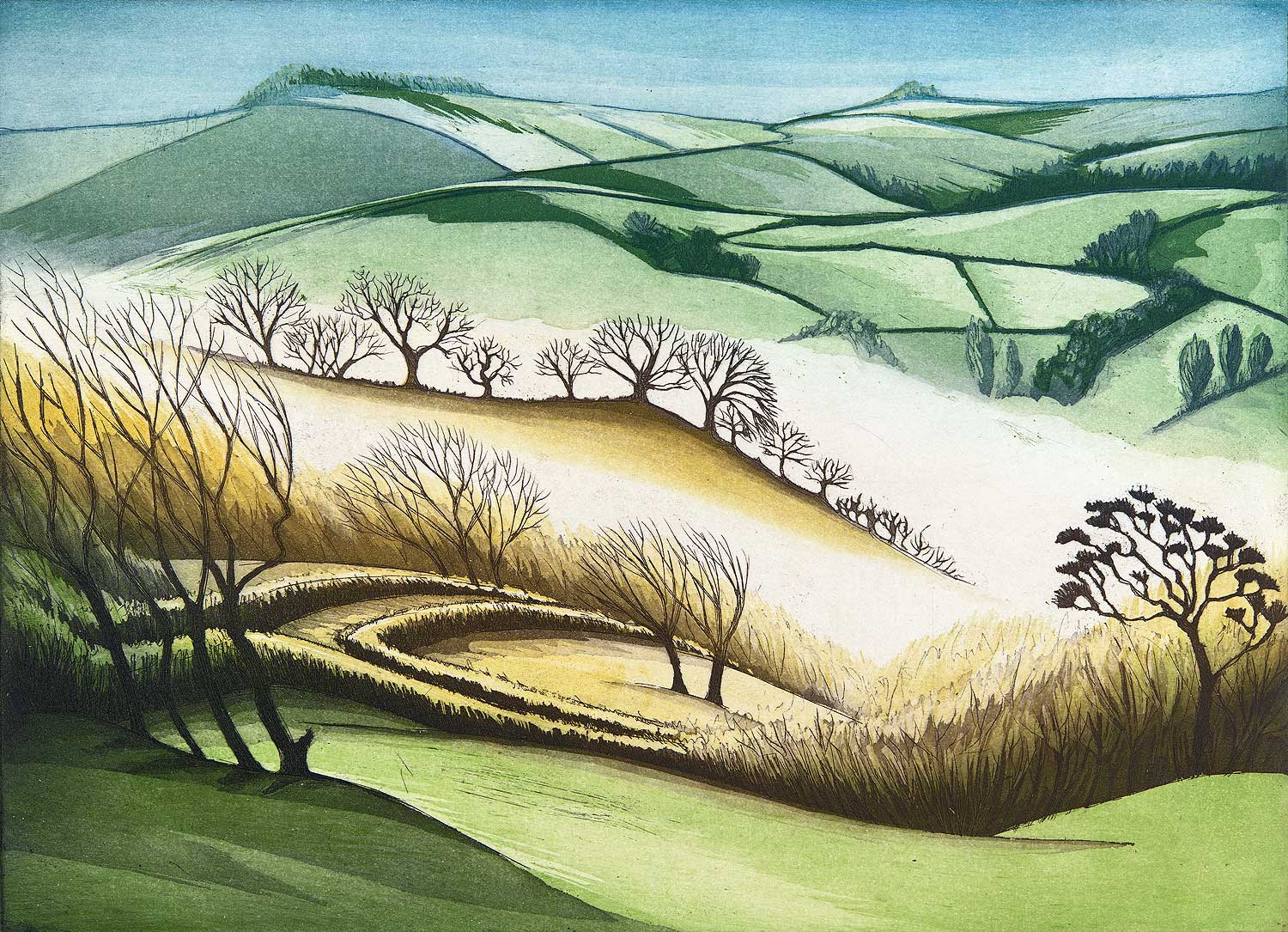 'Mist in the Valley' by Morna Rhys