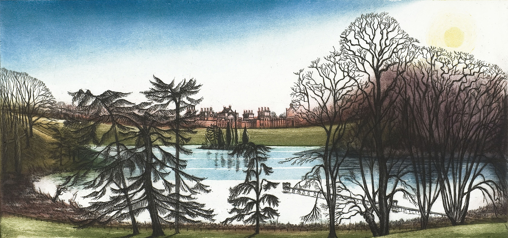'Queen Pool Blenheim' by Morna Rhys