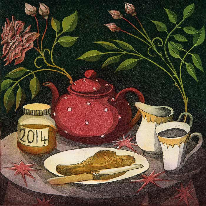 'Spotted Teapot' by Morna Rhys