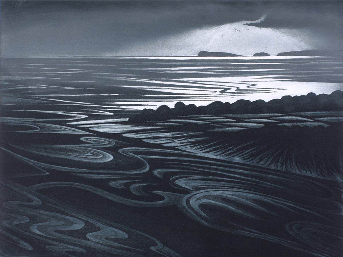 'Taff Estuary' by Morna Rhys