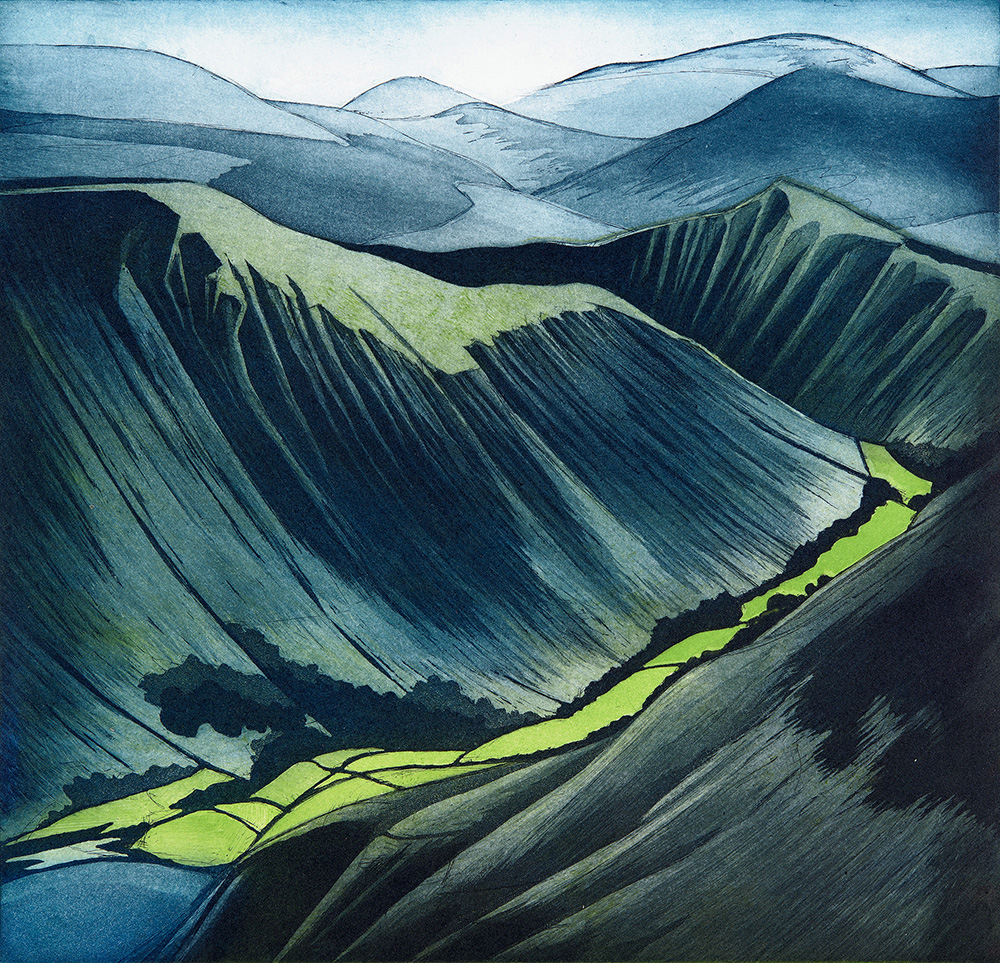 'The Green Valley' by Morna Rhys