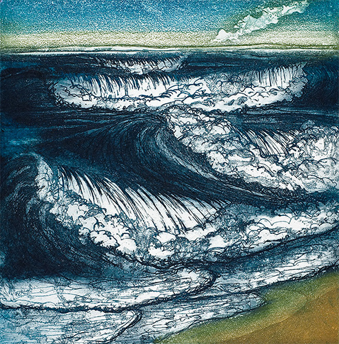 'Waves' by Morna Rhys