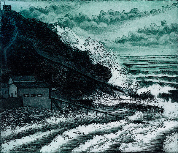 'Winter Sea' by Morna Rhys