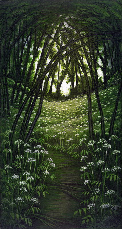 'Woodland Spring' by Morna Rhys